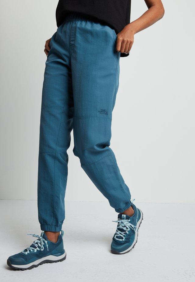 WOMENS CLASS JOGGER - Friluftsbukser - mallard blue