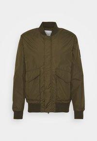 Bomber Jacket - chard green