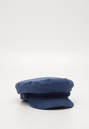 FIDDLER CAP - Bonnet - washed navy/mauve