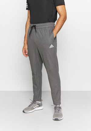GAME AND GO TEAM ISSUE AEROREADY WARMING - Tracksuit bottoms - solid grey/white