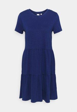 TIERD - Jersey dress - deep cobalt