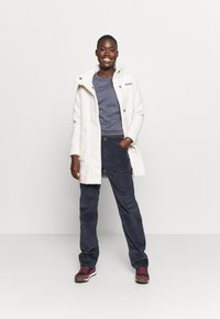 Columbia - PANORAMA LONG JACKET - Fleecejas - chalk - 1