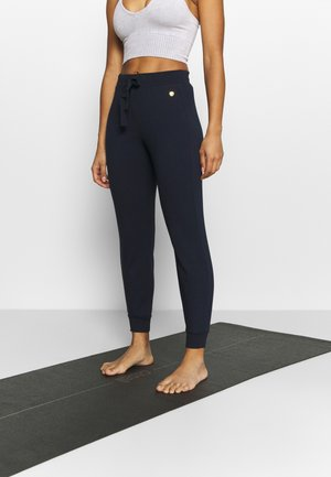 DEHA DAMEN - Pantalones deportivos - night blue