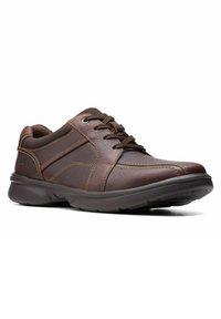 Clarks - BRADLEY WALK - Trainers - brown tumb - 4