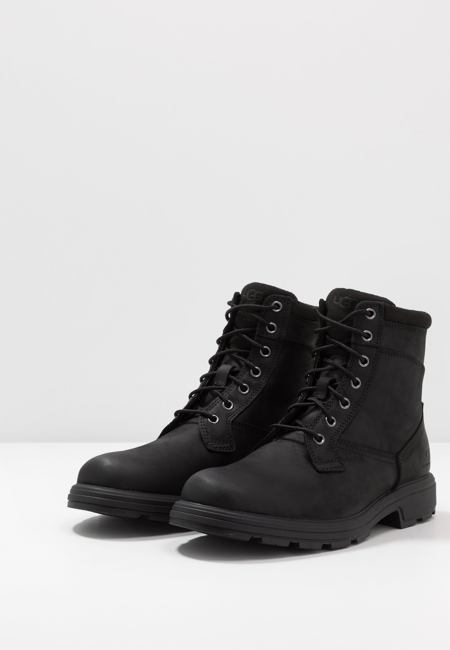 Excellent Cheapest UGG BILTMORE WORKBOOT - Lace-up ankle boots - black | men's shoes 2020 VwVBz