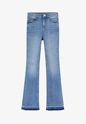 FLORIDA - Flared Jeans - middenblauw