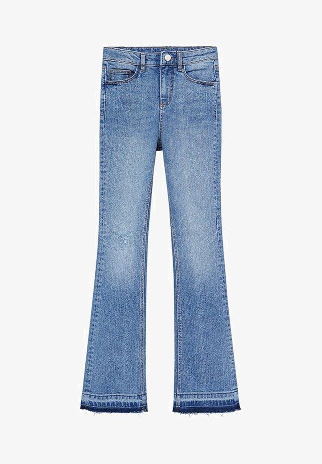 FLORIDA - Flared Jeans - middenblauw