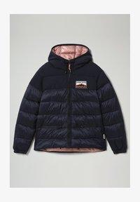 Napapijri - ATERBLU  - Winter jacket - blu marine - 1