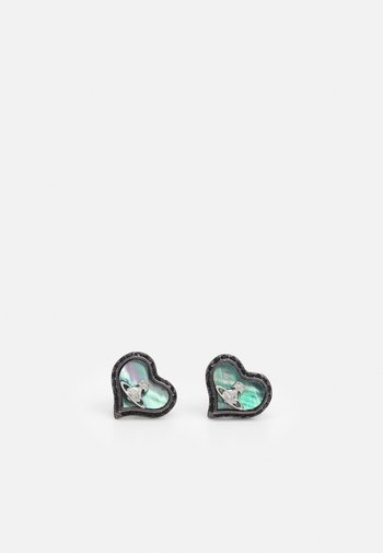 PETRA EARRINGS - Earrings - jet metallic