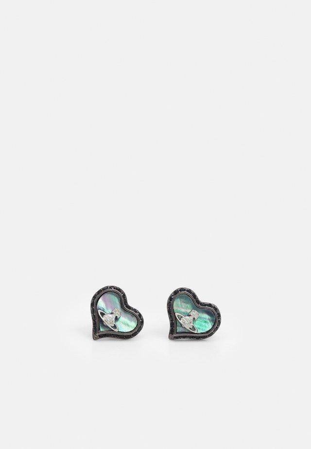 PETRA EARRINGS - Ohrringe - jet metallic
