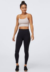 OYSHO - SEAMLESS - Leggings - black - 1