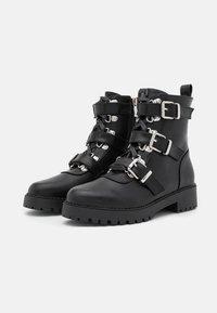 RAID - LUCIA BOOTIE - Cowboy/biker ankle boot - black - 2