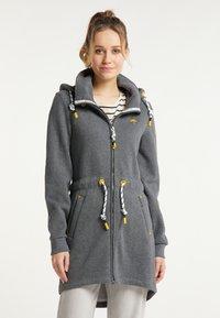 Schmuddelwedda - Zip-up sweatshirt - grau melange - 0