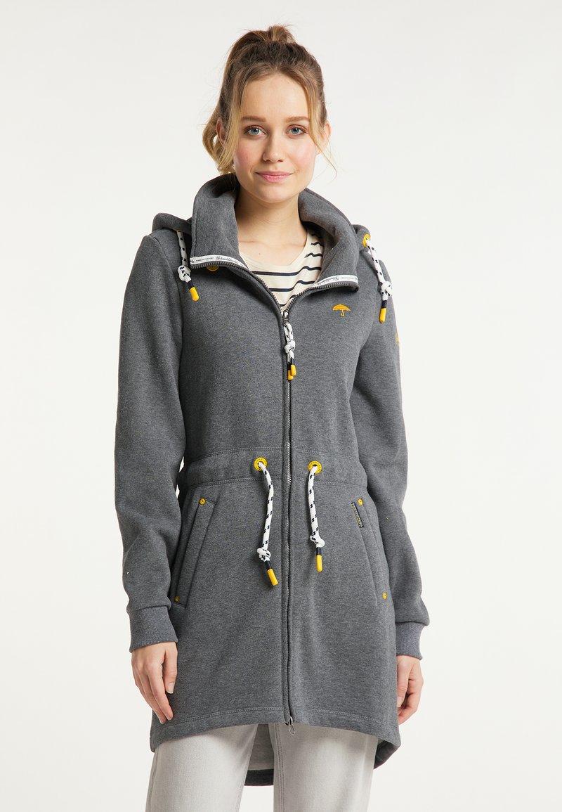 Schmuddelwedda - Zip-up sweatshirt - grau melange