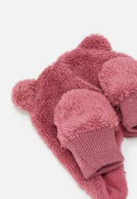 Name it - NBFMELBEL SET - Gorro - rose wine - 3
