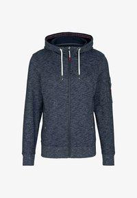 TOM TAILOR - Zip-up hoodie - dark blue - 4
