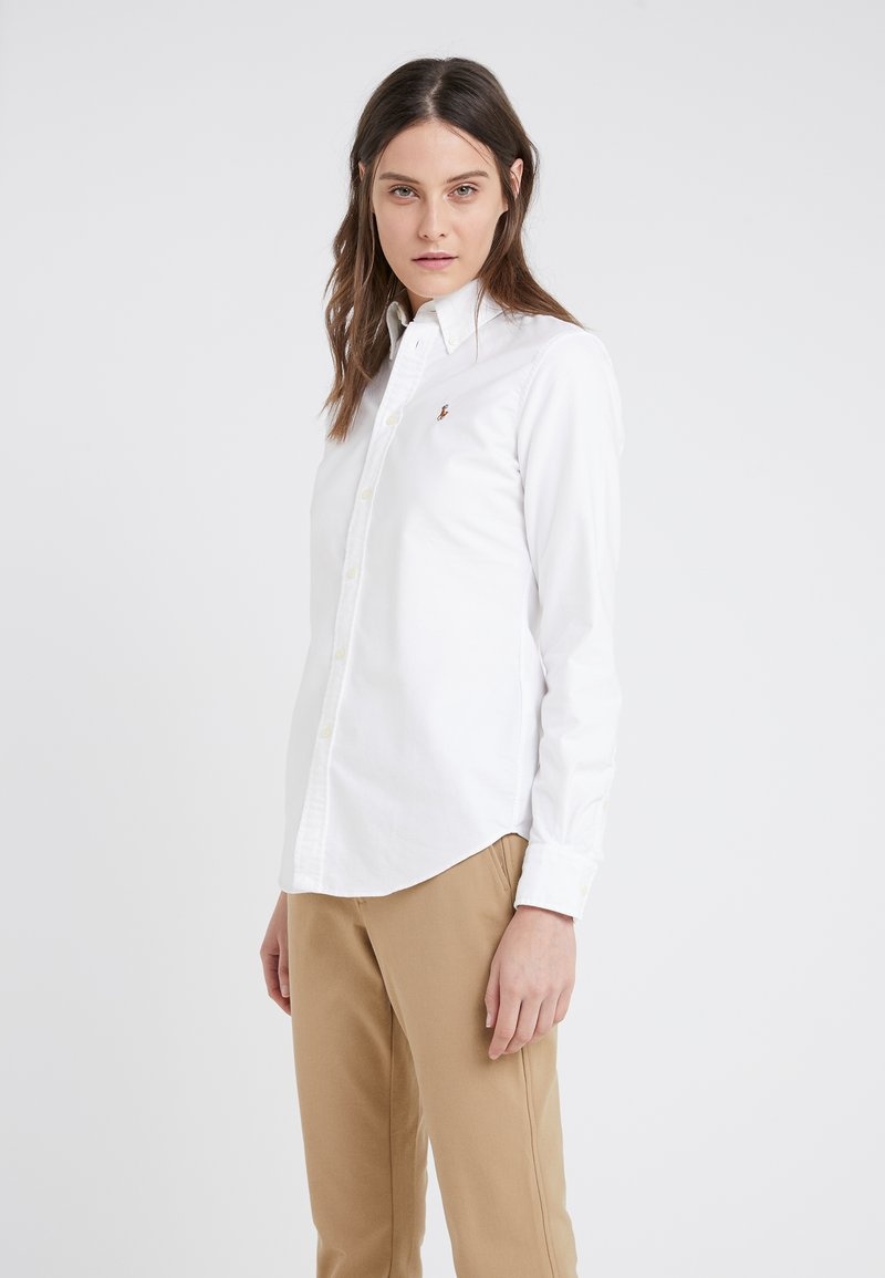 Polo Ralph Lauren - HARPER CUSTOM FIT - Button-down blouse - white