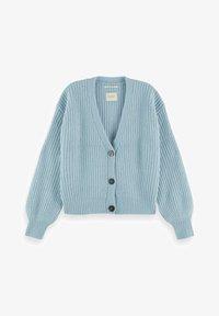 Scotch & Soda - FUZZY BOXY FIT  - Vest - french blue melange - 3