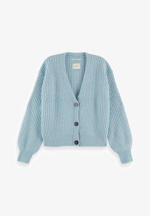 FUZZY BOXY FIT  - Vest - french blue melange