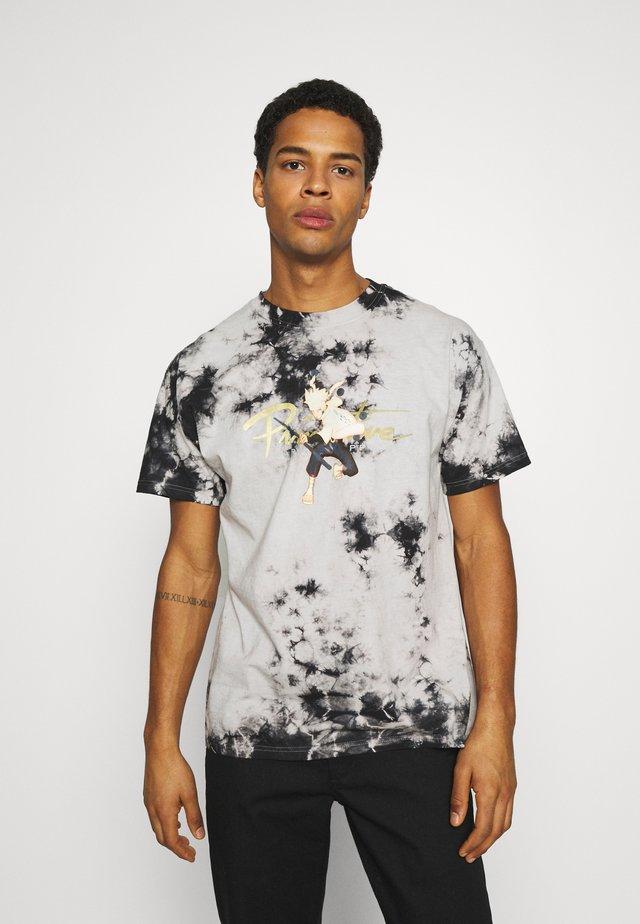 NUEVO KURAMA WASHED TEE - T-shirts print - black