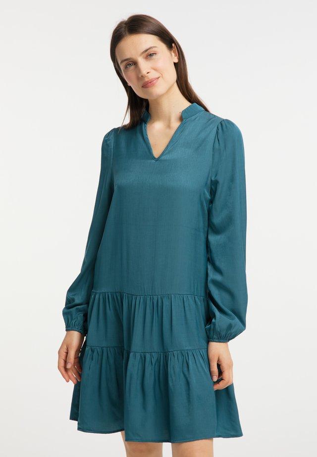 Sukienka letnia - petrol