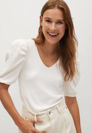 BONNIE - T-shirt imprimé - ecru