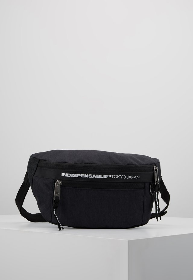 STICKY BELT BAG - Saszetka nerka - black