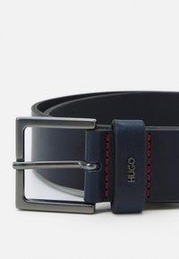 HUGO - GIOVE - Belt - navy - 3