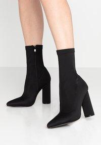 BEBO - ARANZA - High heeled ankle boots - black - 0