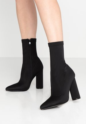 ARANZA - High heeled ankle boots - black
