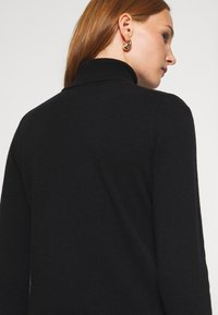 Benetton - TURTLE NECK - Sweter - black - 6