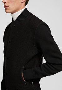 KARL LAGERFELD - Cardigan - black - 4