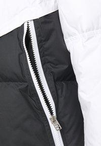 Nike Sportswear - Down jacket - white/dark smoke grey/black - 3