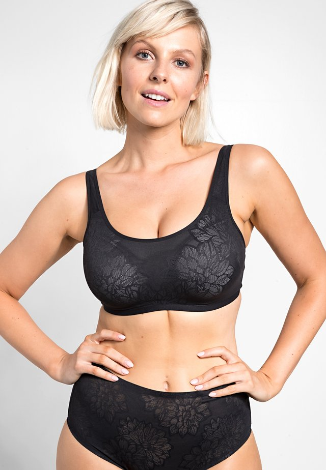 FIT SMART - Bustier - black