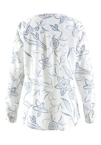 Alba Moda - Blouse - weiß,blau - 5