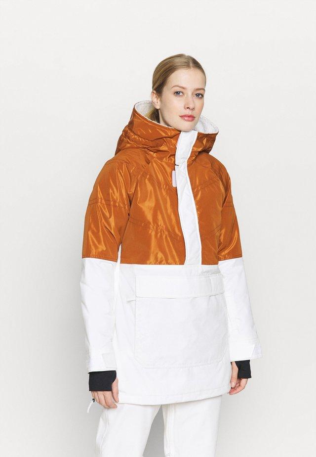 LAROSA ANORAK - Snowboardjas - white