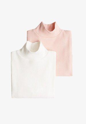 2 pack - Stickad tröja - ecru