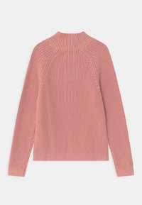 Calvin Klein Jeans - OCO MOCK NECK BOXY - Svetr - pink - 1