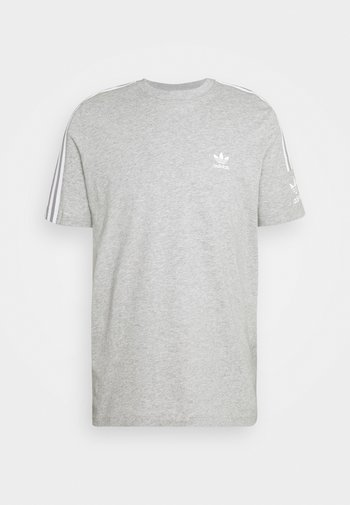 TECH TEE UNISEX - T-shirt con stampa - medium grey heather
