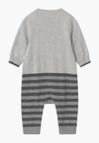 The Bonnie Mob - DEER INTARSIA PLAYSUIT UNISEX - Jumpsuit - grey - 1