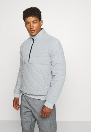 JACKET - Training jacket - light grey marl