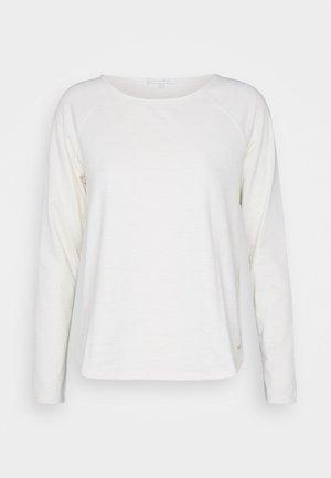 RAGLAN - Bluzka z długim rękawem - soft creme beige