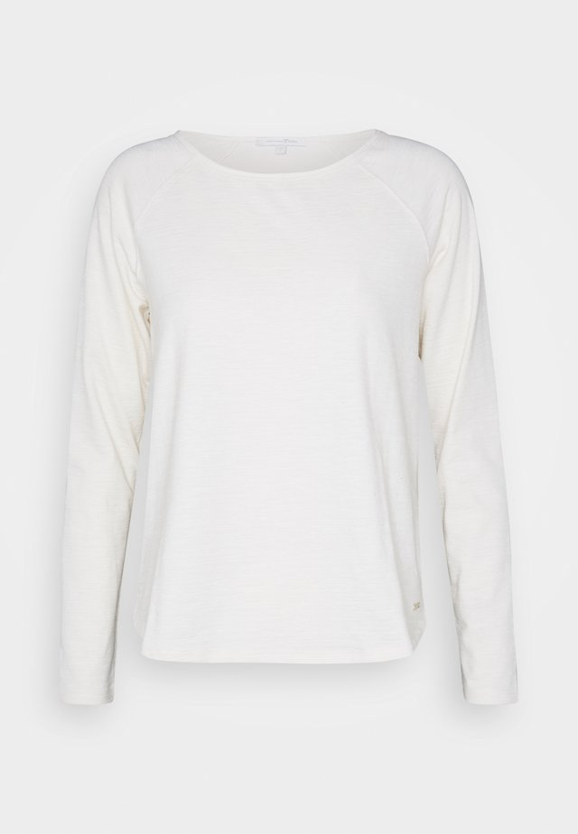RAGLAN - Long sleeved top - soft creme beige