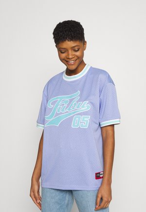 VARSITY - Print T-shirt - lilac