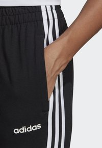 adidas Performance - ESSENTIALS 3-STRIPES JOGGERS - Pantalones deportivos - black - 5