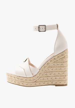 SIVIAN - High heeled sandals - white