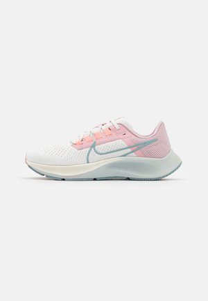 AIR ZOOM PEGASUS 38 - Neutral running shoes - sail/ocean cube/pink glaze/crimson bliss/champagne/photon dust