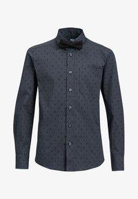 WE Fashion - MET BLIKSEM DESSIN - Shirt - dark grey - 2