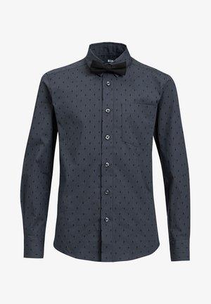 MET BLIKSEM DESSIN - Overhemd - dark grey