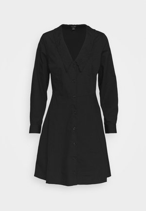 NOOMI DRESS - Shirt dress - black